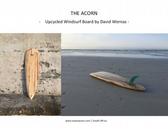 francois jaubert upcycles wasted material eco surfboard